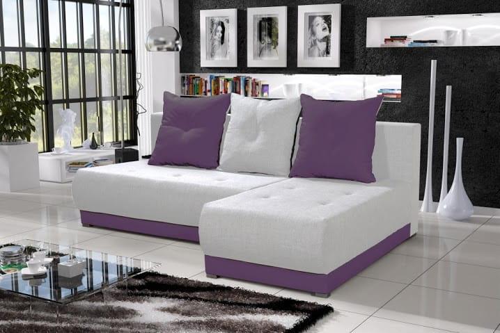 wohnlandschaft eckgarnitur sofa insignia mit schlaffunktion und bettkasten top ebay. Black Bedroom Furniture Sets. Home Design Ideas