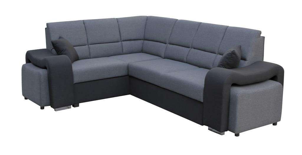 wohnlandschaft eckgarnitur sofa fabian mit schlaffunktion. Black Bedroom Furniture Sets. Home Design Ideas