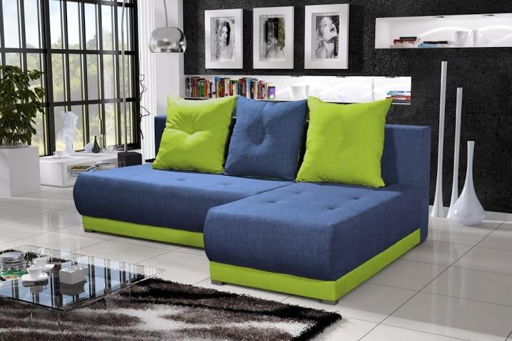 Wohnlandschaft eckgarnitur sofa insignia mit for Eckgarnitur mit schlaffunktion und bettkasten