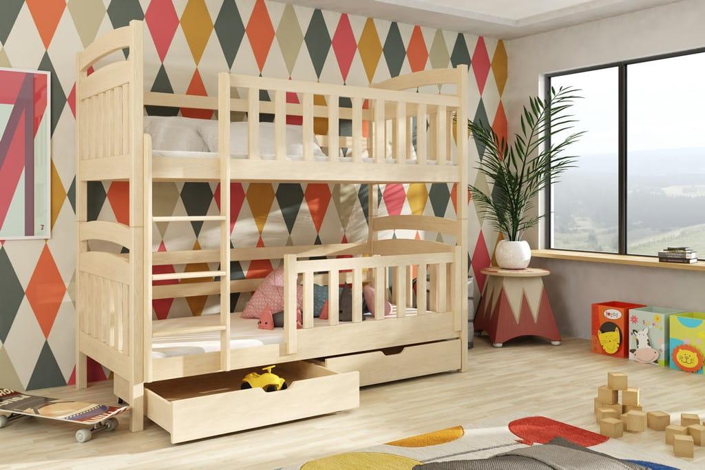 etagenbett peter i etagenbett kinder etagenbett f r 2. Black Bedroom Furniture Sets. Home Design Ideas