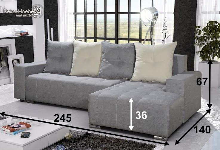 wohnlandschaft telo deine moebel 24 einfach einrichten. Black Bedroom Furniture Sets. Home Design Ideas