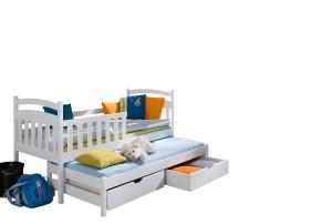 Etagenbett Niedrig : Olo niedrig etagenbett buche cm weiß ⭐ kinder