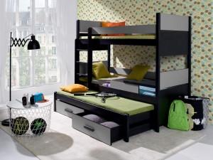 Etagenbett Um Die Ecke : Deine moebel 24 etagenbetten hochbetten stockebetten mit matratzen