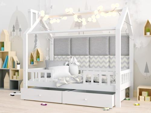Kinderbett Hausbett Einzelbett Rosi Mit Schubladen