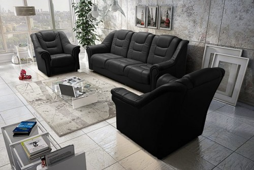 Sofa Sessel 3+1+1 Set KARO