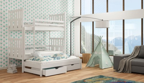Etagenbett Für Drei Kinder : Etagenbett fur kinder mode fa r
