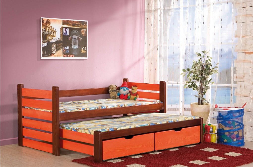 kinderbett matti deine moebel 24 einfach einrichten. Black Bedroom Furniture Sets. Home Design Ideas
