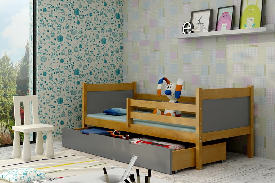 kinderbett luca deine moebel 24 einfach einrichten. Black Bedroom Furniture Sets. Home Design Ideas