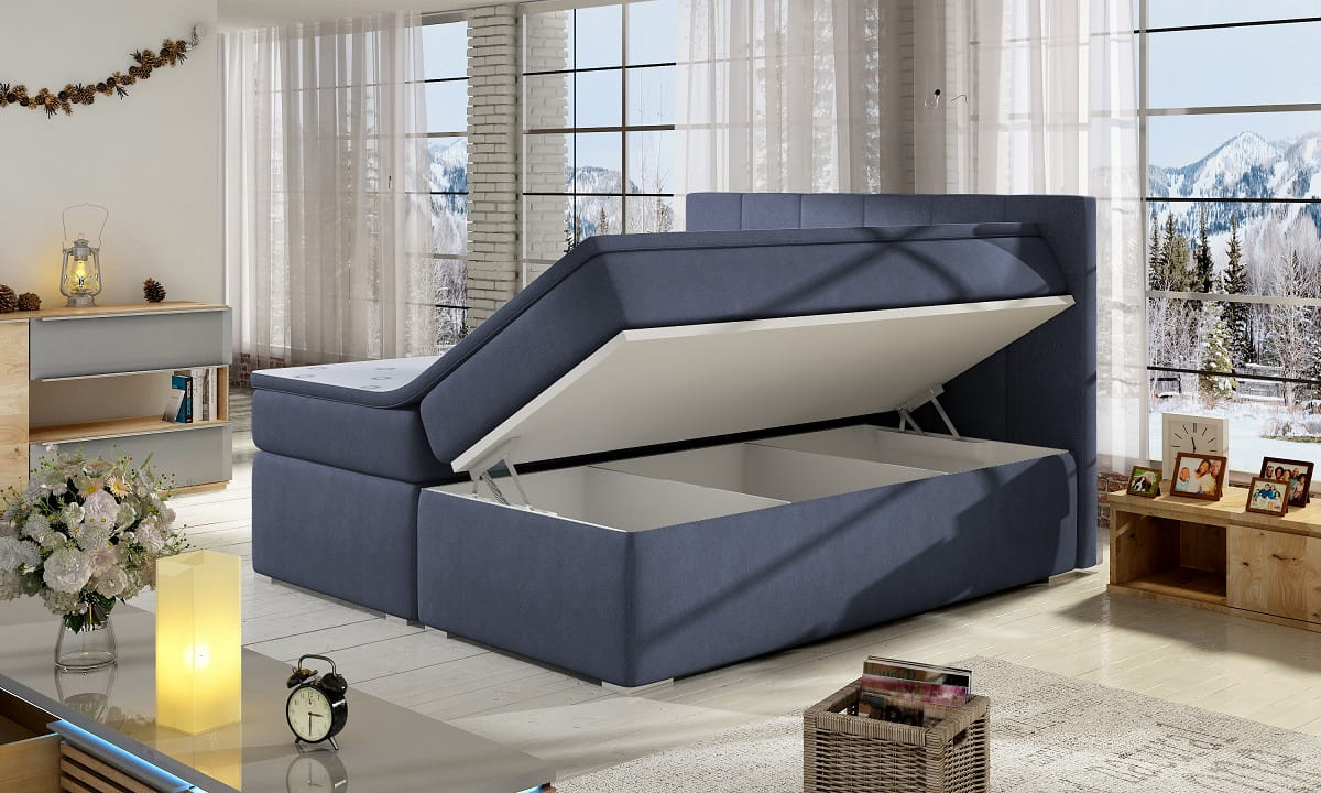 design boxspringbett ben doppelbett bett hotelbett ehebett 160x200 inkl matratz ebay. Black Bedroom Furniture Sets. Home Design Ideas