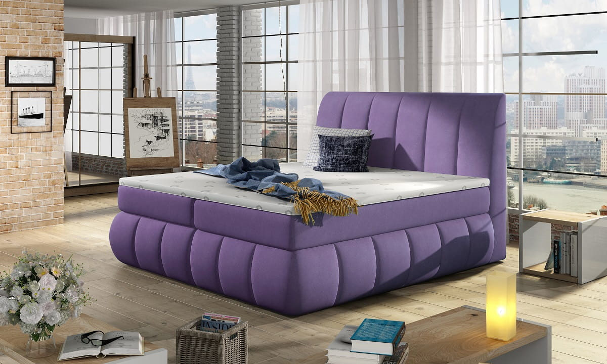 boxspringbett viola i deine moebel 24 einfach einrichten. Black Bedroom Furniture Sets. Home Design Ideas