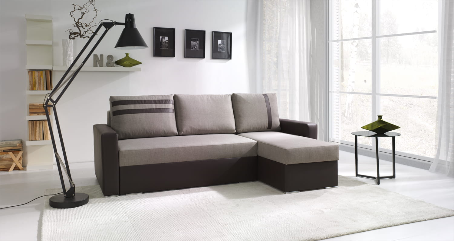 wohnlandschaft eckgarnitur sofa venus mit schlaffunktion und bettkasten top ebay. Black Bedroom Furniture Sets. Home Design Ideas