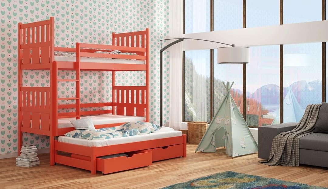 etagenbett jonas etagenbett kinder etagenbett f r 3. Black Bedroom Furniture Sets. Home Design Ideas