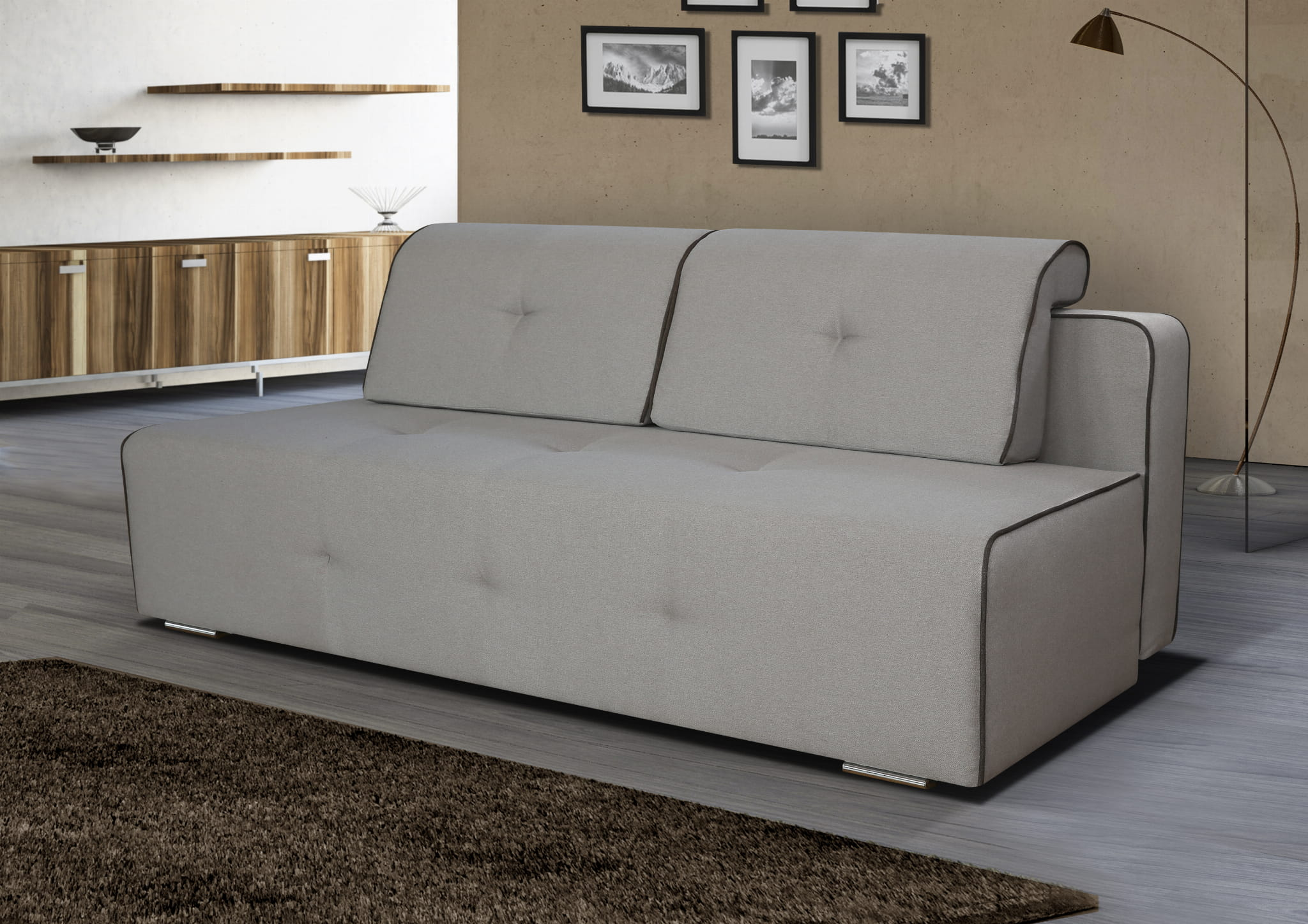 sofa schlafsofa rick mit schlaffunktion bettkasten schlafcouch bettsofa top ebay. Black Bedroom Furniture Sets. Home Design Ideas