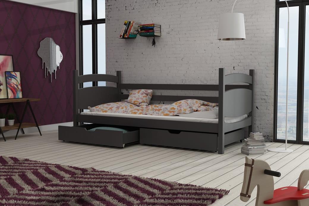 einzelbett emil deine moebel 24 einfach einrichten. Black Bedroom Furniture Sets. Home Design Ideas