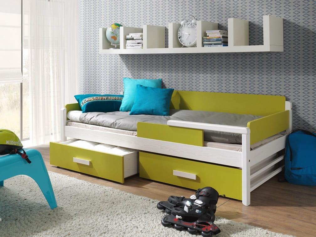 kinderbett teo deine moebel 24 einfach einrichten. Black Bedroom Furniture Sets. Home Design Ideas