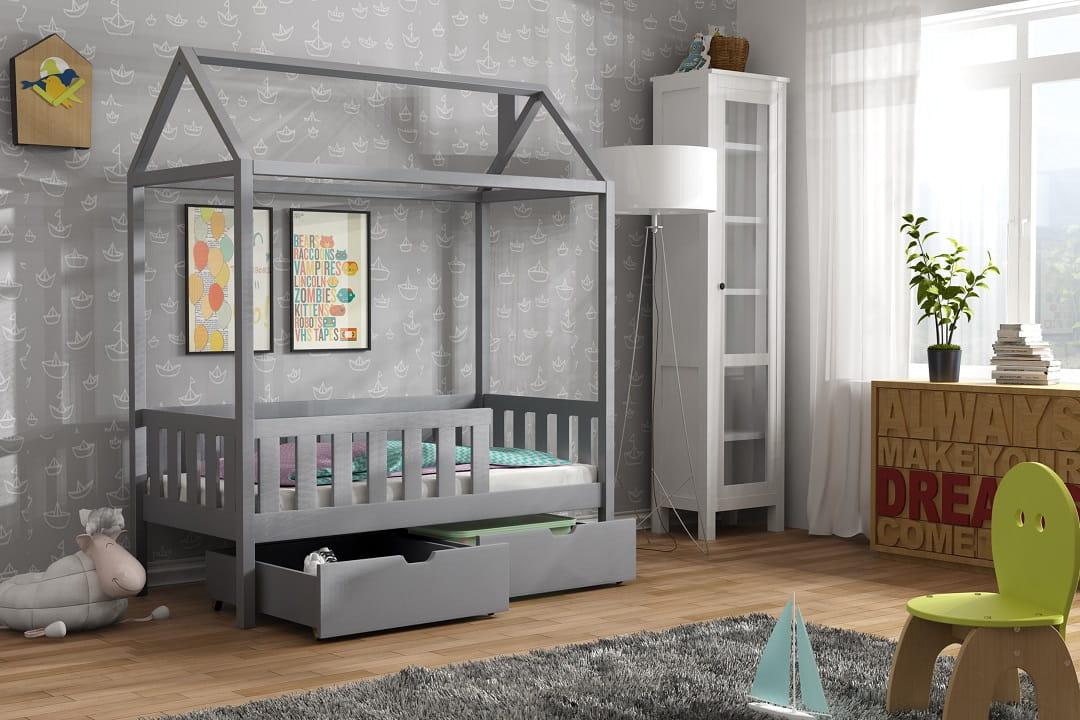 einzelbett dolly ohne schubladen deine moebel 24 einfach. Black Bedroom Furniture Sets. Home Design Ideas