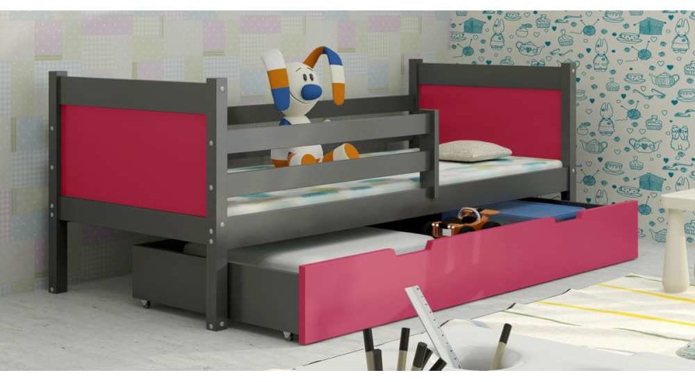 kinderbett luca f r 2 personen deine moebel 24 einfach einrichten. Black Bedroom Furniture Sets. Home Design Ideas