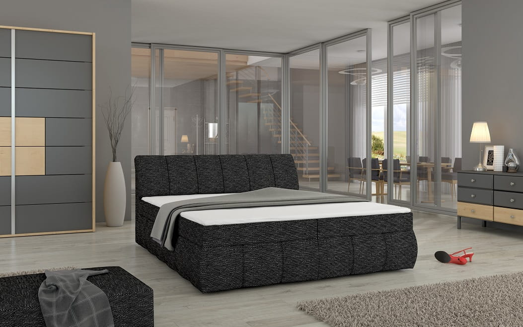 boxspringbett viola deine moebel 24 einfach einrichten. Black Bedroom Furniture Sets. Home Design Ideas