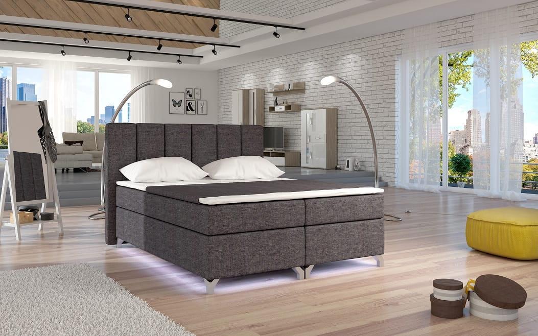 design boxspringbett benny doppelbett bett hotelbett ehebett 180x200 cm top ebay. Black Bedroom Furniture Sets. Home Design Ideas