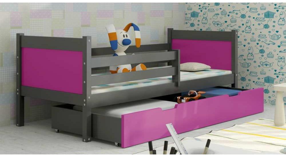 kinderbett jugendbett hochbett luca 2 stockbett mit. Black Bedroom Furniture Sets. Home Design Ideas