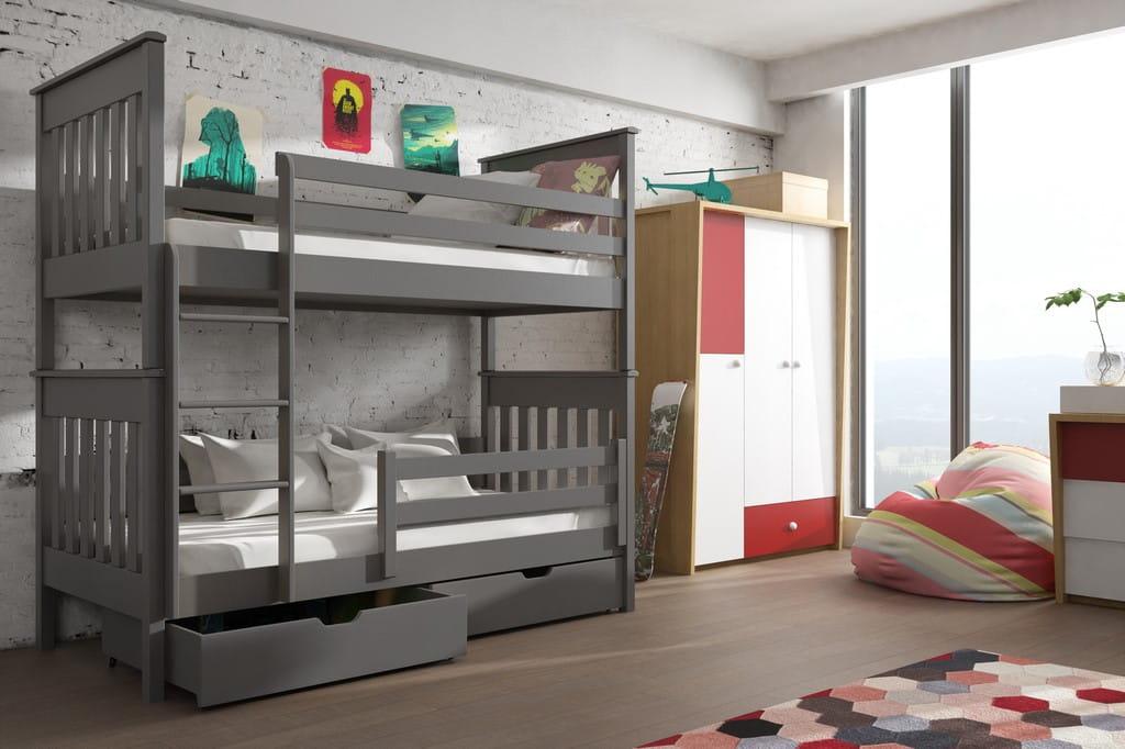 Etagenbett 180 90 : Etagenbett bruno kinder für 2 personen