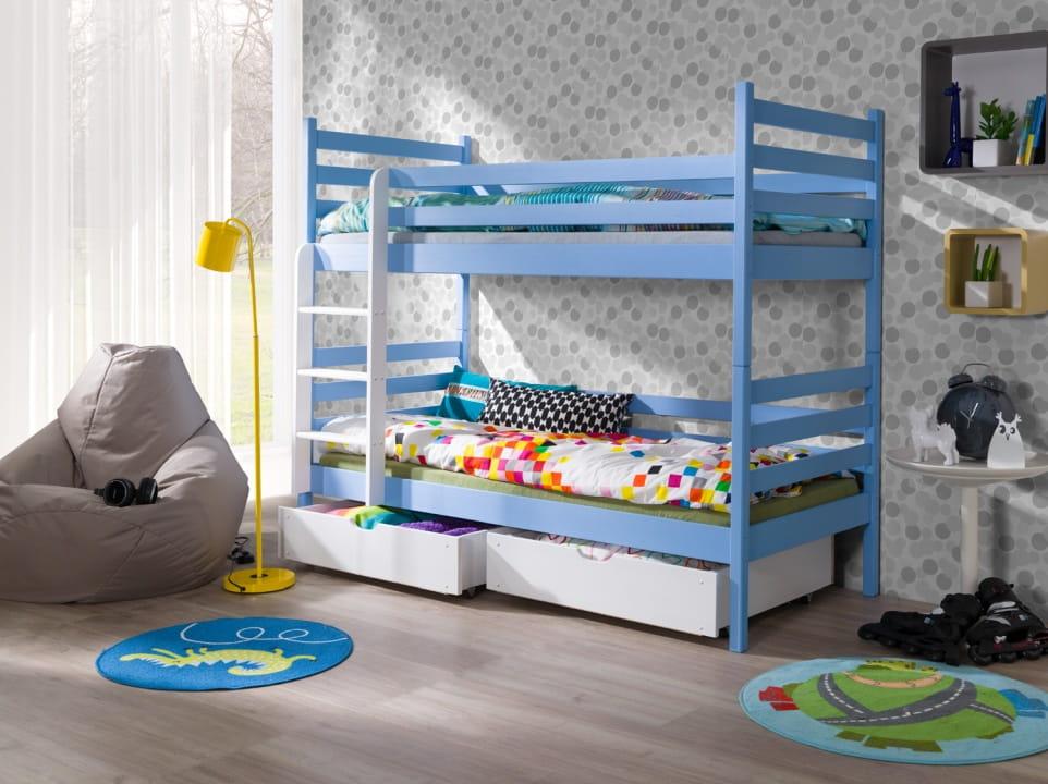 etagenbett nemo iv etagenbett kinder etagenbett f r 2. Black Bedroom Furniture Sets. Home Design Ideas