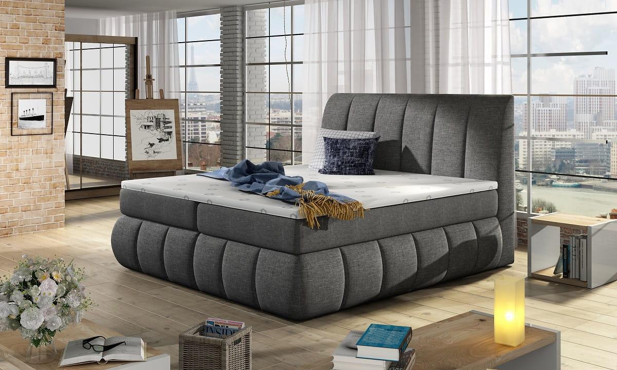 boxspringbett viola i deine moebel 24 einfach einrichten. Black Bedroom Furniture Sets. Home Design Ideas