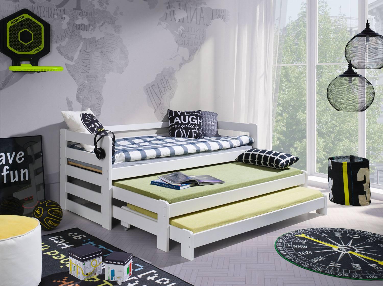 kinderbett rafi f r 3 personen deine moebel 24 einfach. Black Bedroom Furniture Sets. Home Design Ideas